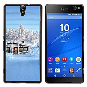 YiPhone /// Prima de resorte delgada de la cubierta del caso de Shell Armor - Sunset Beautiful Nature 62 - Sony Xperia C5 Ultra
