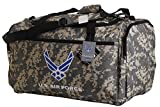 U.S. Air Force Official Licensed Camo Duffle Gym Luggage Bag