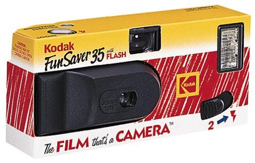 Kodak Funsaver 35mm Single Use Camera w/Flash
