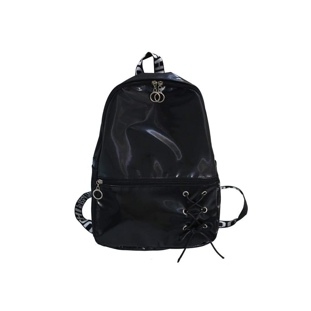 Fashion Women Large Capacity Shoulder Bag Student Backpack Travel Couple Bag
