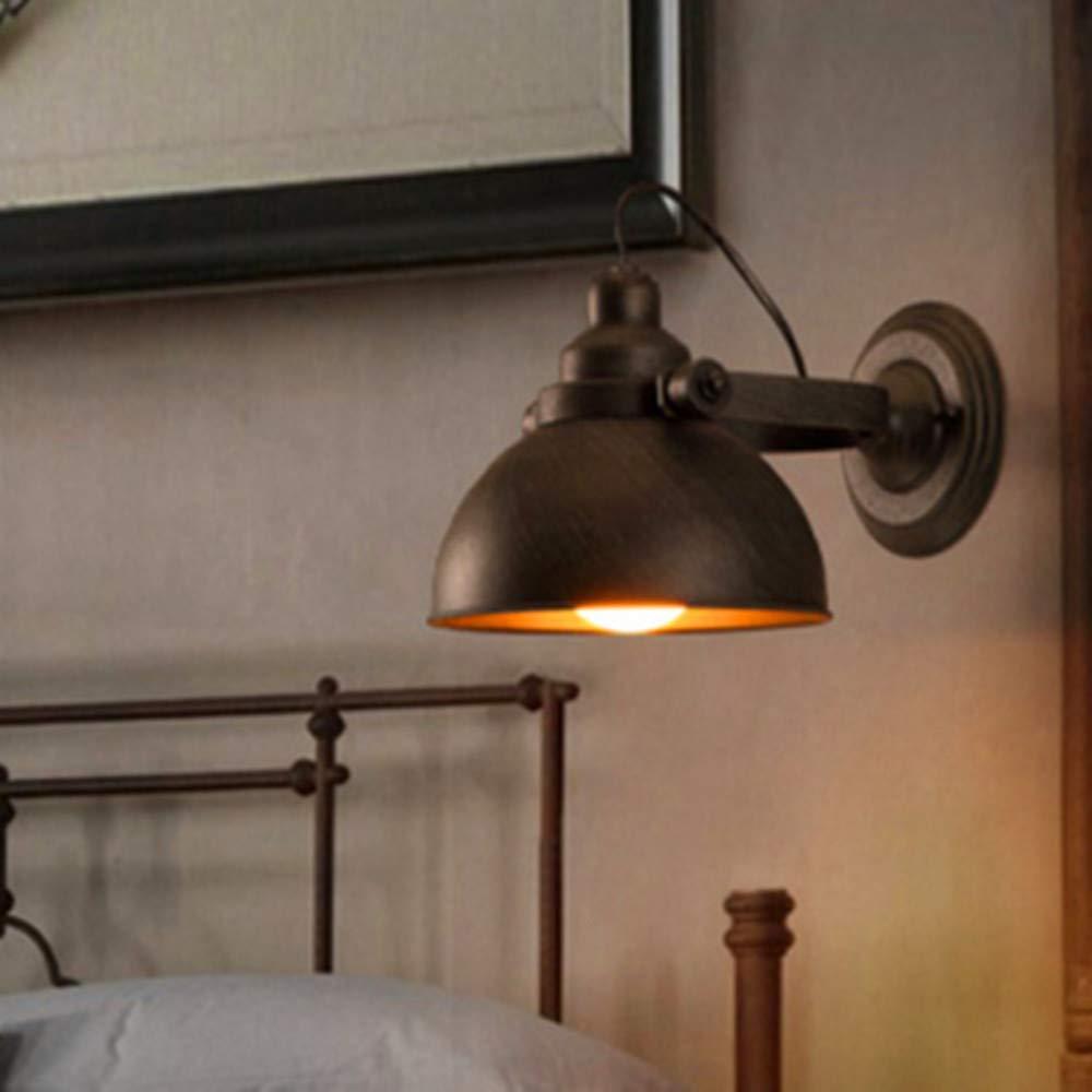 American Village loft industriale Edison Vintage Style applique da parete per lampada da parete