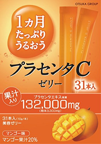 Placenta C beauty Jelly--Mango taste--(31sticks)