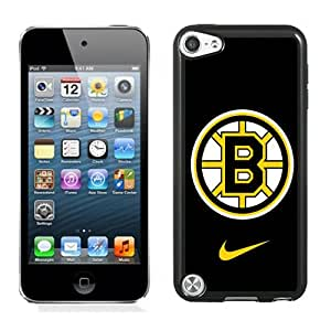 Customized Design Phone Case For iPod Touch 5 boston bruins Cell Phone Cover Case for Ipod Touch 5th Generation Black