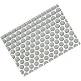 Hafele Undersink matting, 1150 mm W x 625 mm D (451/2 inch W x 24-5/8 inch D), polystyrene, gray, stainless