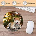 Round Mouse Mat - Japanese Akita Inu Puppy Dog Office Gift - RM15710 9