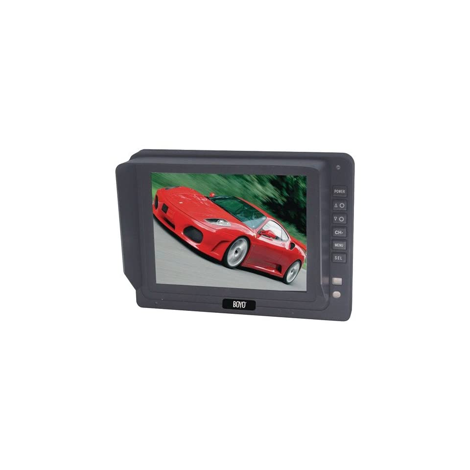 BOYO VTM5000 5 TFT LCD DIGITAL PANEL MONITOR WITH 3 VIDEO INPUTS BYOVTM5000