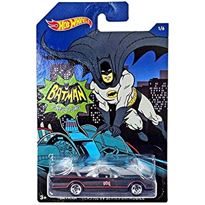 Hot Wheels 2015 Batman Classic TV Series Batmobile 1/6: Toys & Games