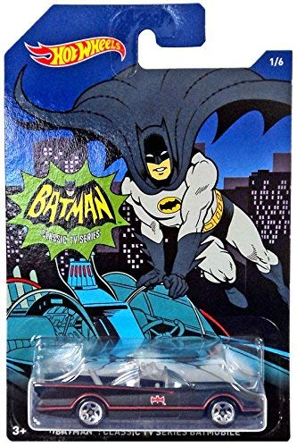 Hot Wheels 2015 Batman Classic TV Series Batmobile 1/6]()