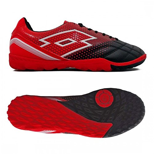 Lotto , Chaussures pour homme spécial foot en salle red black 42 nero spider