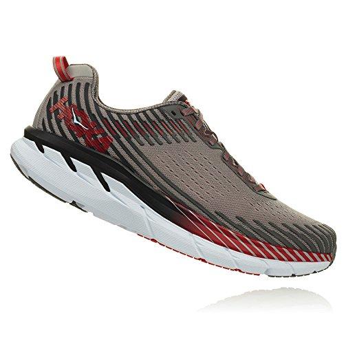 Shoe HOKA 5 ONE Alloy Gray Steel ONE Clifton Running Men's YvwCfqrv