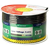 Coleman Cable 55269 250-Feet 2-Conductor 12-Gauge Low Voltage Underground Lighting Cable