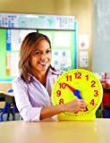 Learning Resources Big Time 12-Hour Demonstration Clock, Baby & Kids Zone