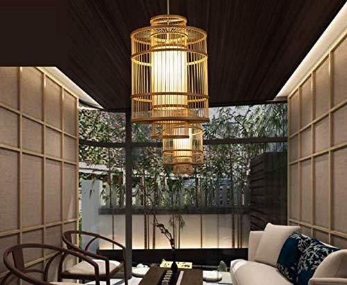 56Cm Chandelierceiling Lampenschirm Beleuchtung Kronleuchter S/üdostasiatischen Stil Kronleuchter Bambus Lampe Restaurant Clubhouse Teestube Rattan Lampe Neue Chinesische Lampen 35