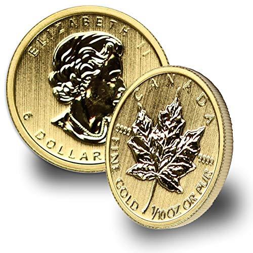1979 CA -Present Canada 1/10oz Gold Maple Leaf (Random Year) $5 Brilliant Uncirculated