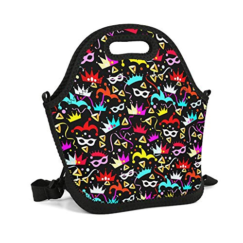 Art Lunch Box Halloween Holiday Stores Near Me Costumes for Women Insulated Resuable Thermal Durable Leakproof Recycled Fit-Fresh Outdoor School Tote]()