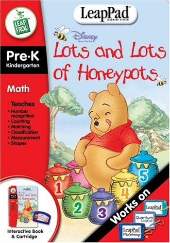 Pre-K & Kindergarten LeapPad Book: Pooh's Lots and Lots of H
