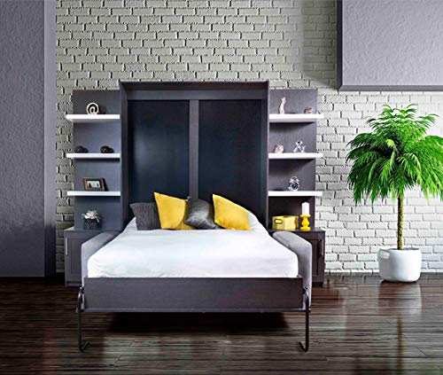 Amazon.com: WBS DIY Murphy Bed Hardware Kit, instalación de ...