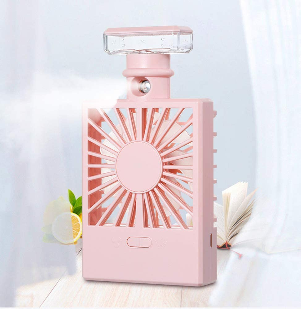 Mini Handheld USB Misting Fans Spray Portable with Personal Cooling Mist Humidifier Fan for Home Office Bedroom