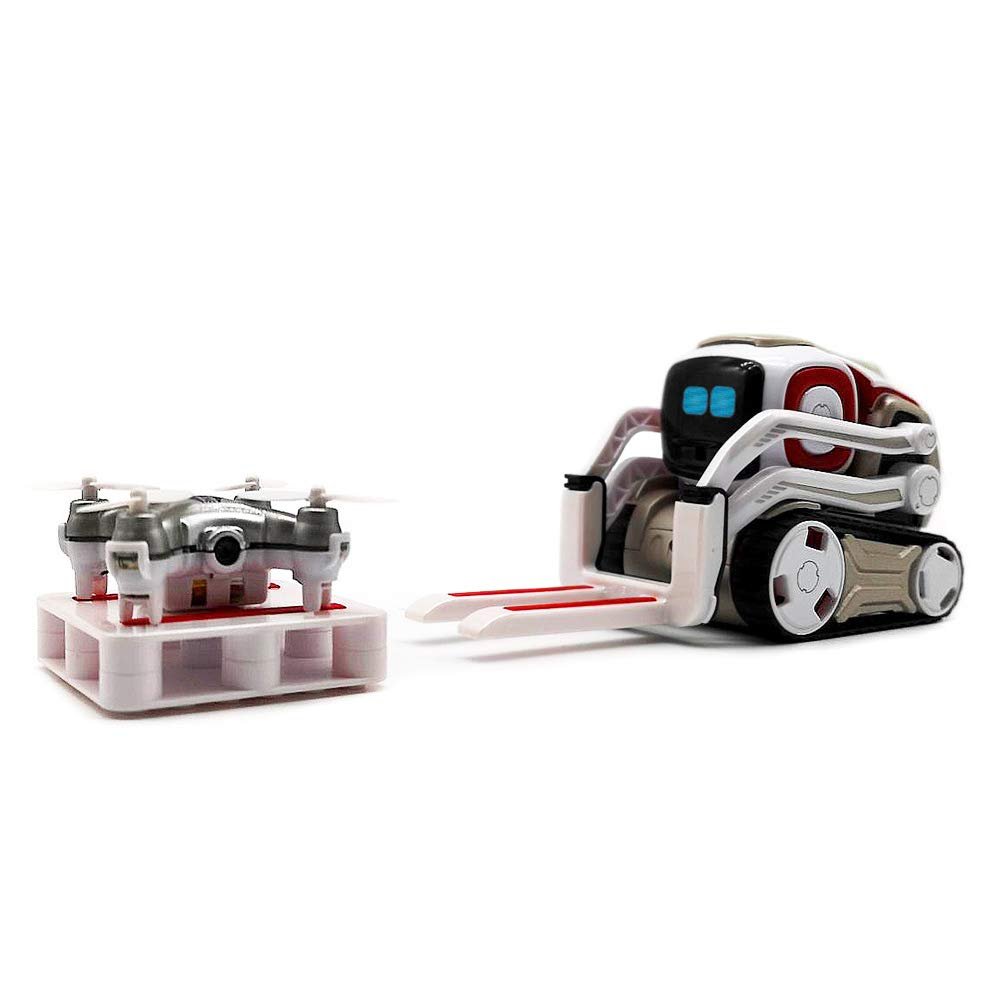 Hexnub Anki Cozmo Lifting-Kit Accessories to Boost Your App-Controlled Toy Robots (White/red) by Hexnub (Image #2)