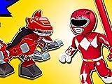 Clip: Red Ranger T-Rex Zord