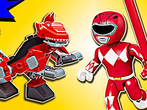 Clip: Red Ranger T-Rex Zord]()