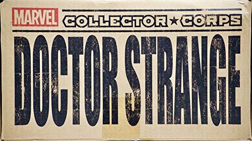 2016 - Marvel Collector Corps - Doctor Strange Box - Patch/Pin/Variant Comic Book/Pop! #173 BobbleHead/Ceramic Mug - Plus - - Bobble Head Variant
