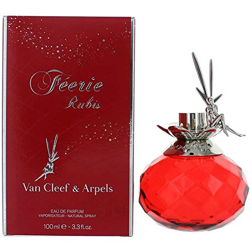 - Van Cleef & Arpels Eau de Parfum Spray, Feerie Rubis, 3.3 Ounce