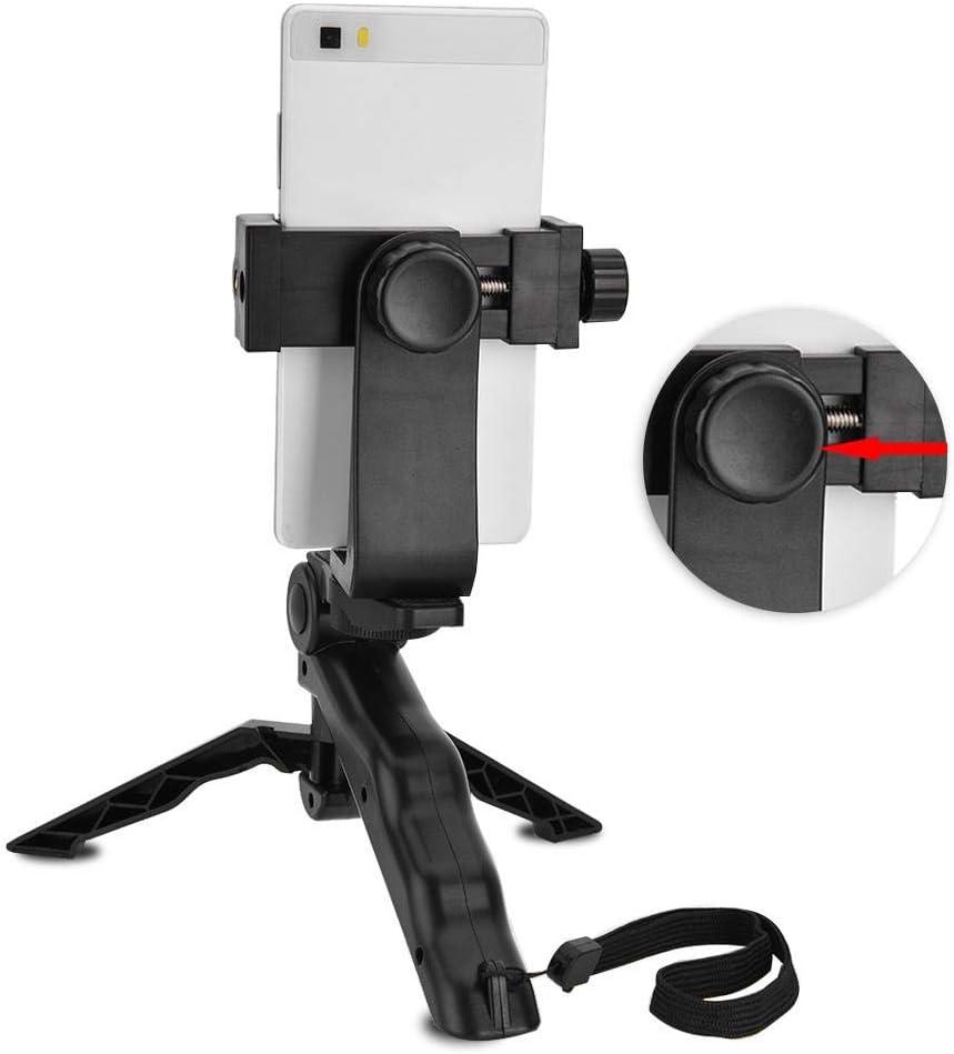 Selfie Handheld Grip Tripod Stabilizer Hand Grip Mount for All Phones Ergonomic Swivel Smartphone Handheld Phone Holder for Outdoor Live Broadcast