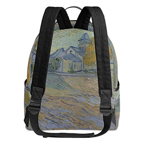 Van Backpacks Gogh Travel bag daypack Blick hiking DEZIRO Daypack zXZdwfxZq