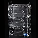 Transparent 3 Floors Hamster Glass Cage-Playground (Type B)