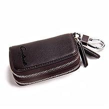 BININBOX Men Wallet Purse Coin Card ID Case Slim Billfold Keychain Case