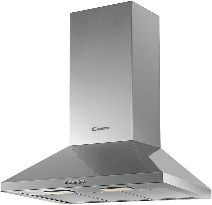 Candy CCE116X CAMPANA CHIMENEA- ANCHO: 60 CM, 56 W, Acero Inoxidable: Amazon.es: Grandes electrodomésticos