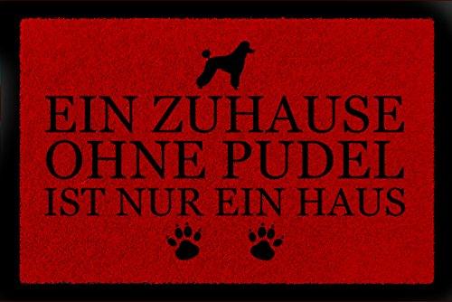 QualitäT Ein Zuhause Ohne Dobermann In Herzlich Willkommen Fußmatte Ausgezeichnete
