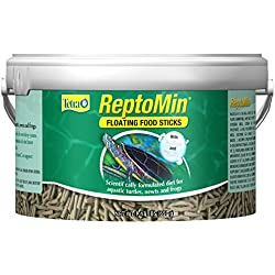 ReptoMin Floating Food Sticks Tub, 2.5-Liter, 1.43lbs (29259)
