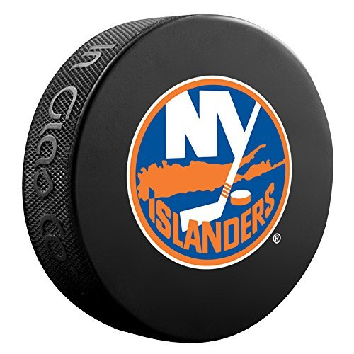 Puck Collection - New York Islanders Basic Collectors Official NHL Hockey Game Puck