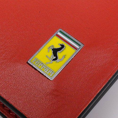 Pocket Cavallino Cavallino Ferrari Wallet MenâÂÂs Rampante Red MenâÂÂs Ferrari 6gYqWzwBY
