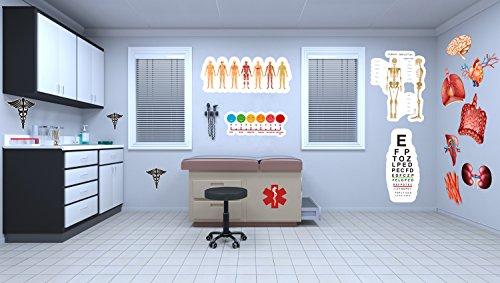 12 PC Medical Office Classroom Vinyl -