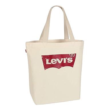 5c39aa7804 Levi s Unisex Tote Bag Shopper Bag Batwing Vintage Logo Tote ecru ...