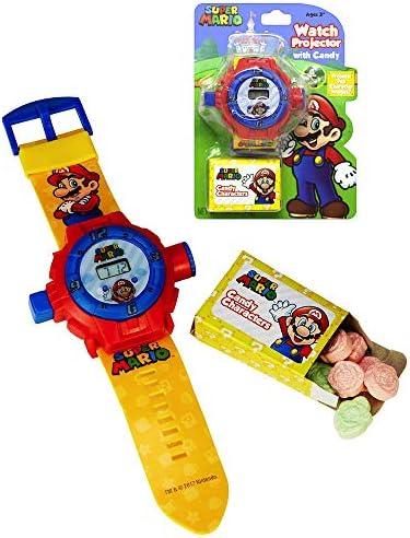 Amazon.com: Super Mario reloj proyector con Candy Character ...