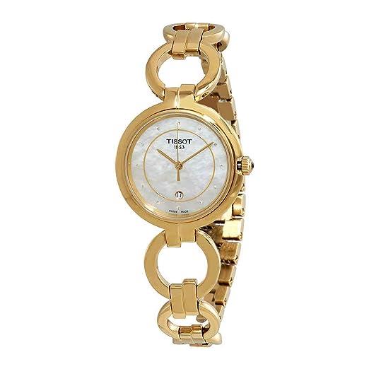 Tissot TISSOT FLAMINGO DIAMANT T094.210.33.116.00 Reloj de Pulsera para mujeres: Amazon.es: Relojes