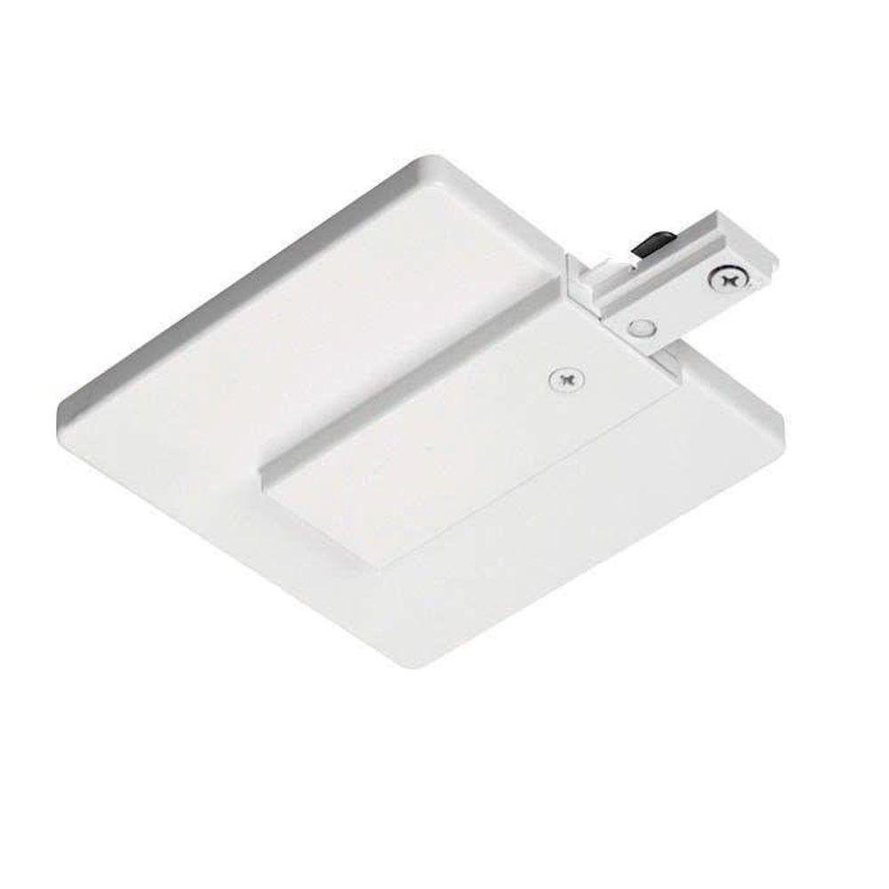 Juno Lighting R21WH End Feed Connector and Outlet Box Cover, White by Juno Lighting Group (Image #1)