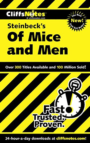 CliffsNotes on Steinbeck's Of Mice and Men (1st 2011) [Van Kirk]
