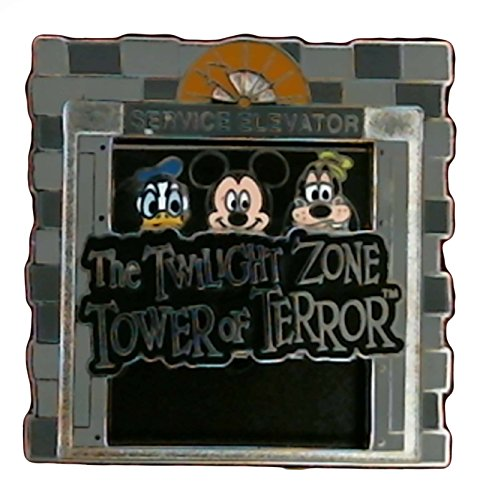 - Disney Pin - Twilight Zone - Tower of Terror Service Elevator - 108440