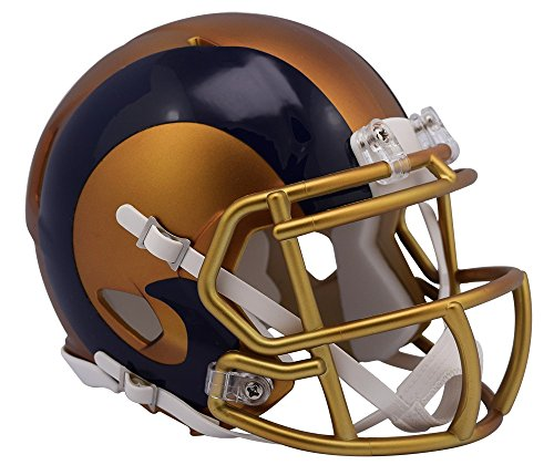 NFL Los Angeles Rams Riddell Alternate Blaze Speed Full Size Replica Helmet by Riddell