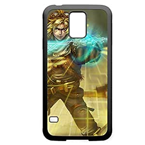 Ezreal-001 League of Legends LoL case cover Samsung Galxy S4 I9500/I9502 - Rubber Black