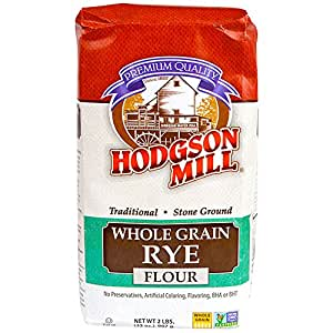 Amazon.com : Hodgson Mill Whole Grain Rye Flour, 2-Pounds