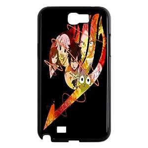 Samsung Galaxy Note 2 N7100 Phone Case Black Fairy Tail HCM107109