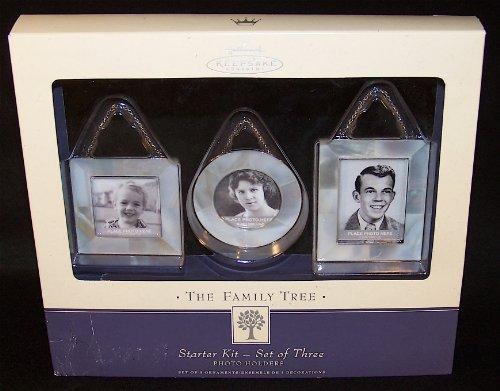 Family Tree Photo Holder (Hallmark Family Tree Starter Kit Mother of Pearl Set of 3 Hallmark 2003 QEP1337)