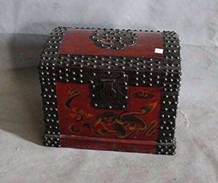 Pecho Tronco chino muebles de almacenamiento accesorios antiguo ...