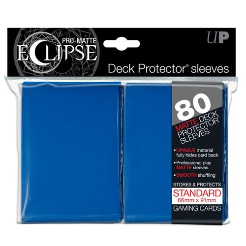 pro-matte-eclipse-blue-standard-deck-protector-sleeves-80-count-pack